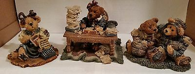 Boyds Bears & Friends - Lot of 7 - Bearstone and Teabearie