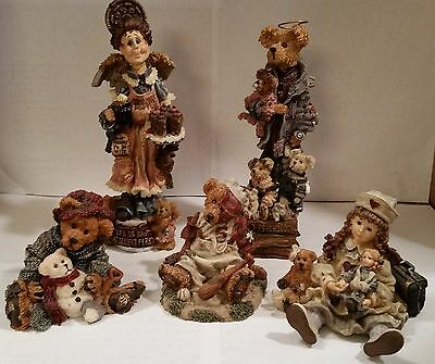 Boyds Bears & Friends - Lot of 5 - Folkstone, Bearstone and Yesterdays Child