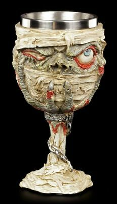 Zombie Chalice - Drink the decomposition - Jug Wine glass Fantasy Horror