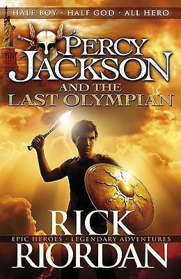 Percy Jackson and the Last Olympian (Book 5) by Rick Riordan Paperback BRAND NEW