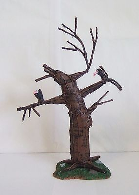 Lemax Halloween Spooky Town Vulture Tree #44758 MINT IN PACKAGE LN (OR1)