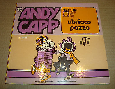 Comics Box De Luxe 58 Andy Capp Ubriaco Pazzo Editoriale Corno 1982