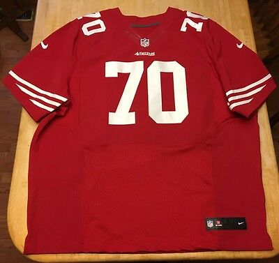 hot sale online 33629 6a9ce MENS NIKE SAN Francisco 49ers WW On Field NFL STITCHED Jersey Size 60