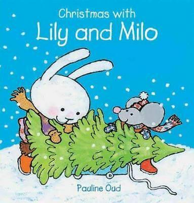 Christmas with Lily and Milo by Pauline Oud (English) Hardcover Book Free Shippi