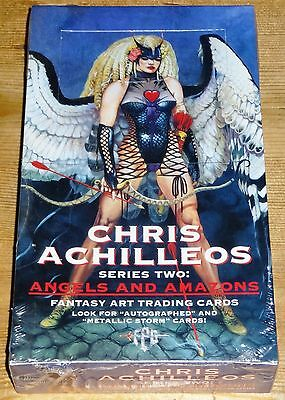 Chris Achilleos 2 Angels & Amazons Unopened Sealed Box Trading Cards FPG (1994)