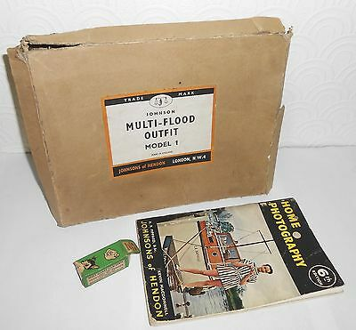 Johnsons of Hendon Multi-Flood outfit, photography book and Disney film strip