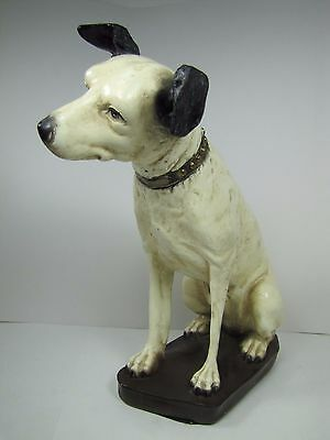 Vintage Large Nipper Dog RCA Victor chalkware plaster phonograph co advertising