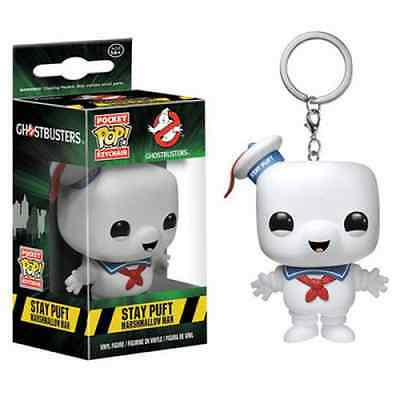 Porte-clés Pocket POP Ghostbusters Stay Puft Licence Officielle