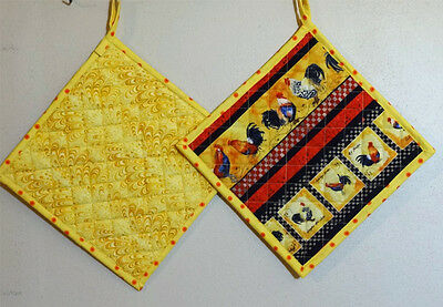 2 and 3 Piece Themed Reversible Potholders