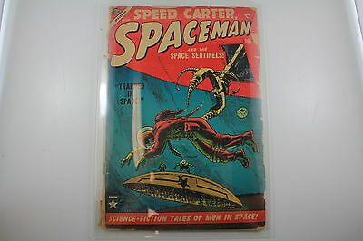 Speed Carter Spaceman and the Space Sentinels! Nov (1953 Atlas)