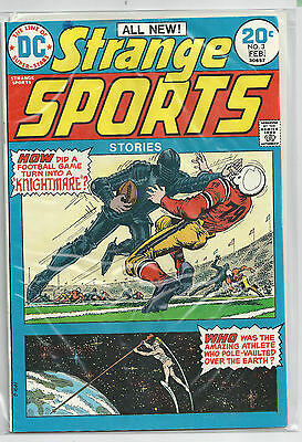 Strange Sports Stories #3 (Jan-Feb 1974, DC Comics) Original VF