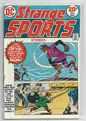 Strange Sports Stories #1 (Sep-Oct 1973, DC Comics) Original VF-