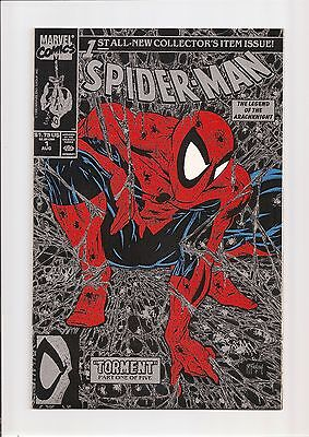 SPIDER-MAN #1 NM/MT 9.8 (DIRECT SILVER EDITION) TODD McFARLANE COVER/ART! 1990