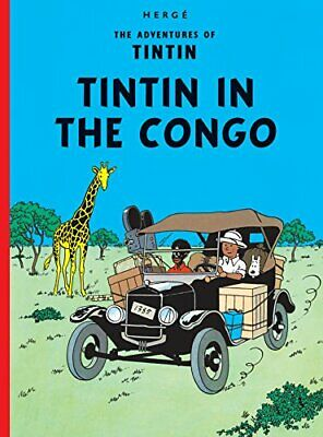 Tintin in the Congo (The Adventures of Tintin) by Hergé Hardback Book The Cheap