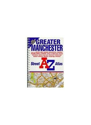 Street Atlas of Greater Manchester by Geographers' A-Z Map Company Paperback The