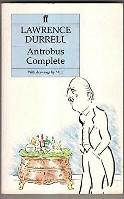 Antrobus Complete by Durrell, Lawrence Paperback Book The Cheap Fast Free Post