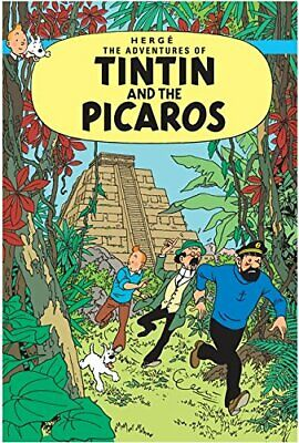 Tintin and the Picaros (The Adventures of Tintin) by Herg� Paperback Book The