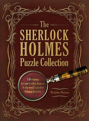 The Sherlock Holmes Puzzle Collection by Dr John Watson Book The Cheap Fast Free