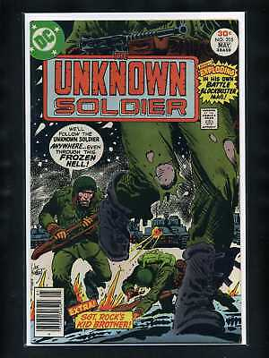 Unknown Soldier #205 VF 1977 DC 1st New Title Comic Book