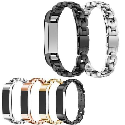 Metal Stainless Steel Accessory Watch Band Wrist Strap For Fitbit Alta Tracker