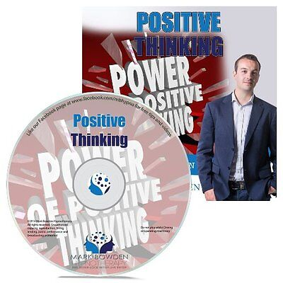 Positive Thinking Hypnosis CD + FREE MP3 VERSION live a happier life