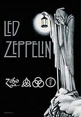 Led Zeppelin Stairway To Heaven large textile poster 1000mm x 750mm  (mm)