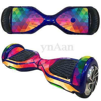 For 6.5'' Self Balancing Scooter Board Protective Sticker Skin Case Cover Decal