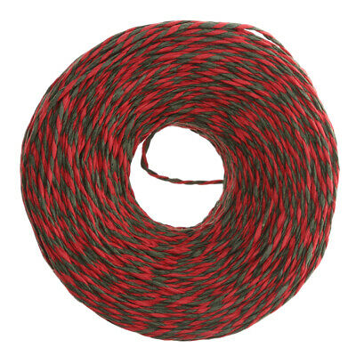 100M Paper String Rope Twine Christmas DIY Gift Wrap Craft Cord Card Making