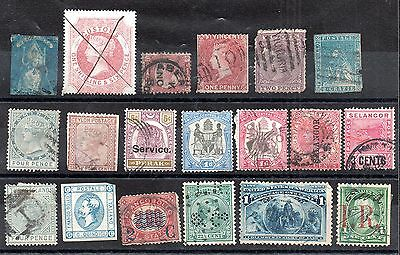 World Early 19th Century collection good cat value (condition varies) ZZ2317
