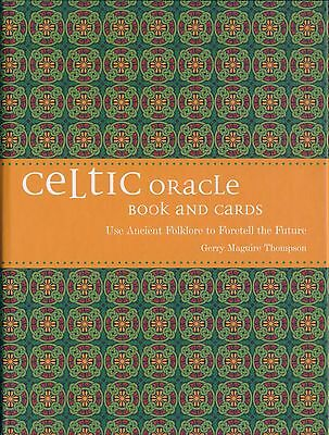 NEW The Celtic Oracle Book and Cards Deck Gerry Maguire Thompson
