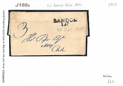 J188a 1808 IRELAND Cork Bandon 3d rate