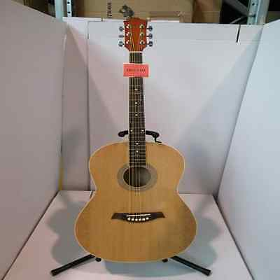 Ebay Item - Natural Acoustic Guitar - Cracked/Scratched