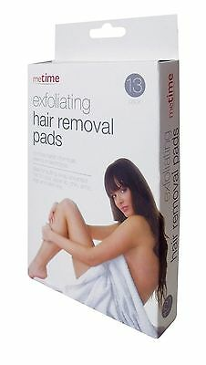 New Pack of 13Exfoliating hair removal pads from Metime, pack contains