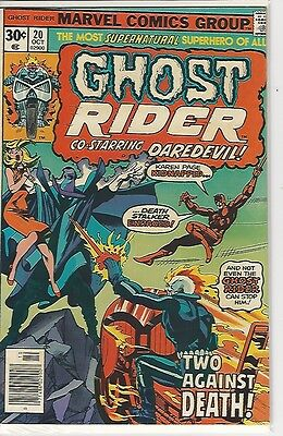 Ghost Rider #20 Two Against Death!  (Oct 1976, Marvel)