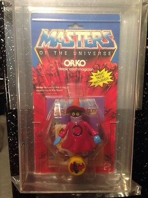 He man Motu ORKO Masters Of The Universe  UKG85 Clear Bubble Wow