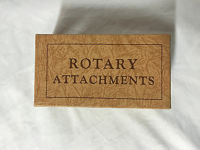 Vintage Greist Sewing Machine Rotary Attachments  15+ pcs.