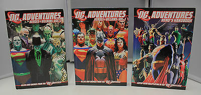 DC Adventures Handbook #1-3 Super-Hero Roleplaying in the DC Universe, Hardcover