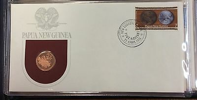 1975 Papua New Guinea first day of issue cachet - 2t