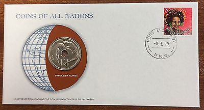 Coins of all nations coin and pnc - PNG