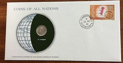 Coins of all nations coin and pnc - St Vincent