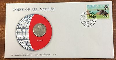 Coins of all nations coin and pnc - Antigua