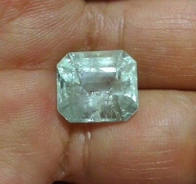 8.15Ct Natural Colombian Emerald Muzo Mine Loose Stone