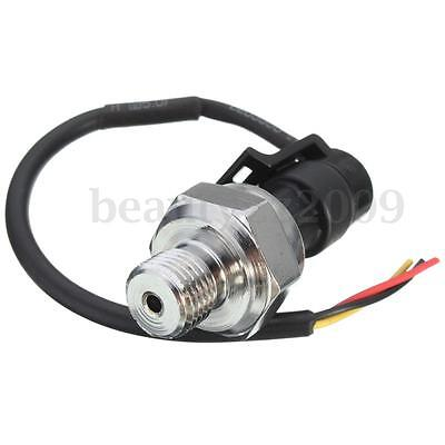 1Pc G1/4 Pressure Transducer Sensor 0-1.2 MPa for Oil Fuel Diesel Gas Water Air