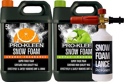 pro kleen snow foam lance and foam car wash shampoo wax. Black Bedroom Furniture Sets. Home Design Ideas