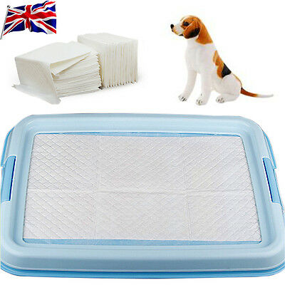 UK Dog Pee Pad House Training Pads Housebreaking Pet Supplies Underpads New