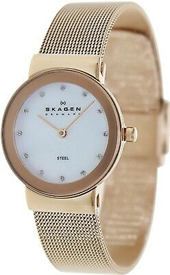 Skagen Women's 358SRRD Gold Stainless-Steel Analog Quartz Watch