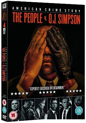 THE PEOPLE v O.J. SIMPSON 2016: OJ American Crime Story  TV Series R2 DVD not US