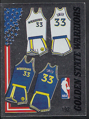 Panini NBA Basketball 1989 Sticker - No 192 - Golden State Warriors
