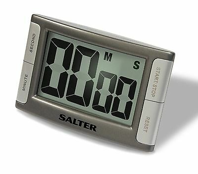 Salter Contour Magnetic & Self Standing Kitchen Timer Loud Beeper