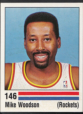 Panini NBA Basketball 1989 Sticker - No 146 - Mike Woodson - Rockets